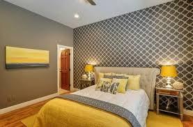 chambre gris et jaune avec quelle couleur associer le gris plus de 40 exemples