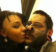true love tattoo woman tattoos man u0027s name on her face 24 hours