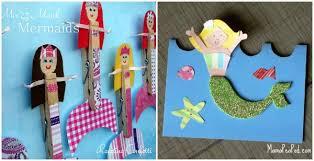 mermaid books crafts kids