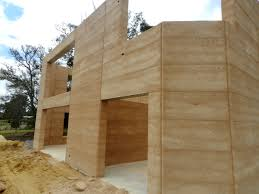 projects rammed earth construction