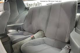 chevrolet camaro back seat 1985 chevrolet camaro