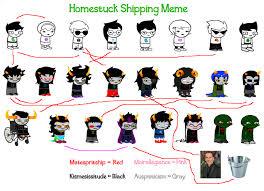 Homestuck Memes - homestuck shipping meme by sangoxandxkirara on deviantart