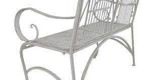 Butterfly Bench Bench Beautiful White Metal Bench Your Garden Can Become A