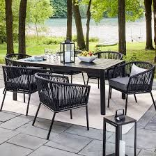 Patio Table Set Outdoor Dining Table Sets Ilashome