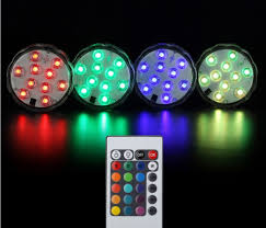 led christmas lights with remote control 3w 4 5v 5050 ledsmd diving led aquarium light remote control led