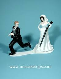 and chain cake topper exles of hobbies and interests wedding cake toppers