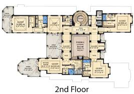 mediterranean home floor plans mediterranean house second floor interior plans 1552 interior ideas