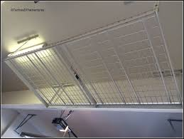 garage organization with overhead racks techie u0027s diy adventures