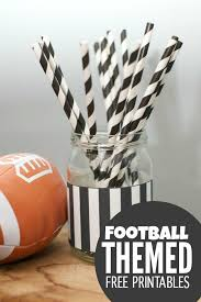 football party decorations big football party decorations free printables