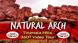 Rock Garden Tour by Natural Arch Rock Garden Tirumala Hills Tirupati 360 4k Rare
