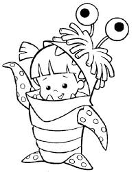 monsters inc coloring pages boo monster inc cute boo coloring pages monster inc coloring pages