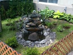 small outdoor water feature pump tag small backyard water