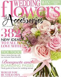 wedding flowers and accessories magazine media georgina chapman flowers