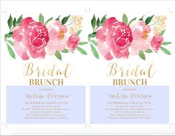 bridal brunch invitation printable bridal shower brunch invitation wedding shower invites