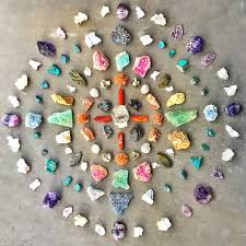 crystals crystal grid how to make your own crystal gridsenergy muse blog
