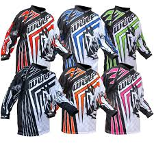 motocross jersey printing junior kids trials dirt bike mx seven annex soldier kit combo