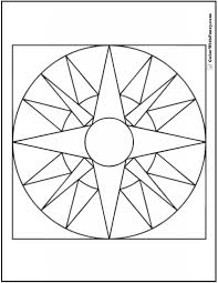 the most amazing geometric coloring pages free to invigorate in