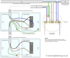 house multiple light switches wiring diagram multiple outlets