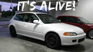 distributor replacement to fix the tach 1992 honda civic eg