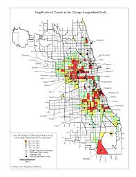 Chicago Area Map by Chicago Longitudinal Study Institute Of Child Development Uofmn