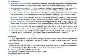 Senior Accountant Resume Examples by Big 4 Audit Senior Resume Reentrycorps