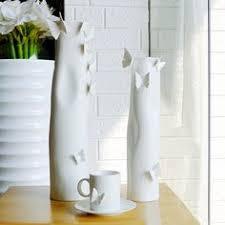 kingart white brown bamboo floor vase large floor vase big home