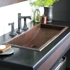 Trough Sink Bathroom Vanity Trough Bathroom Sink U2013 Homefield