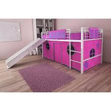 Walmart Girls Bedding Bedding Pretty Twin Loft Bed With Slide Twin Loft Bed Slide