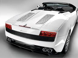 lamborghini back view lamborghini gallardo lp560 4 spyder 2009 pictures information