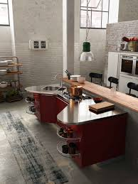 italian kitchen island kitchen rustic wood breakfast bar also red shapely kitchen island