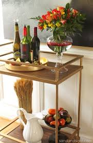 target to have fully stocked bar on black friday thanksgiving tablescape bar carts gold bar cart and thanksgiving