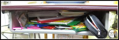 Student Desk Clipart Time 4 Organization No More Messy Student Desks