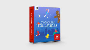 motion and fcpx templates and plugins project 866 christmas