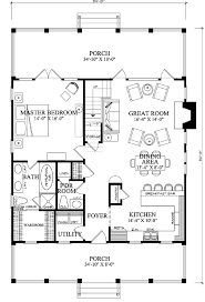 farmhouse floor plans floor plan of cottage country farmhouse house plan 86101
