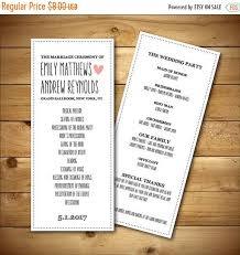 wedding programs diy wedding program template printable wedding program diy wedding