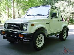 suzuki samurai pickup suzuki samurai only 64k original miles 4wd 5 speed all stock and
