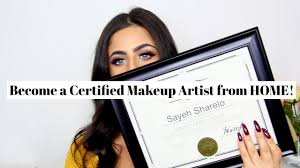 how to become makeup artist become a certified makeup artist from home