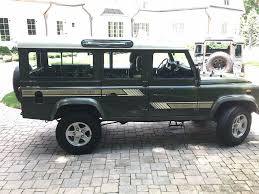 land rover 1990 1989 land rover defender 110 second daily classics