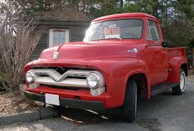 ford 1954 truck ford f series second generation