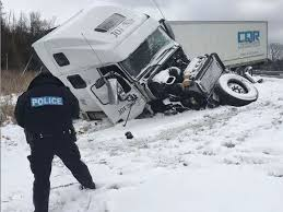 tractor trailer jackknifes on hwy 401 the london free press