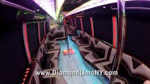 party bus diamond edition party bus 50 passenger youtube