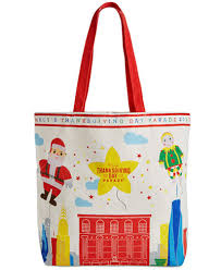 macy s thanksgiving day parade large tote bag created for macy s