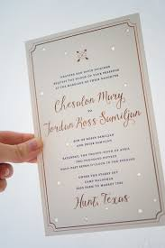 gold wedding invitations gold foil sky wedding invitations