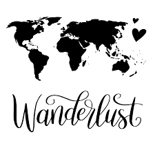 halloween svg files free hand lettered wanderlust world map free svg cut file