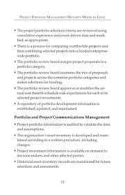 Bilingual Resume Sample Project Portfolio Management Maturity Model Chapter 4