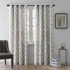 Blue Ikat Curtain Panels Ikat Curtains Drapes You Ll Wayfair