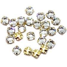necklace making accessories images Rhinestone findings rhondelles rhinestone chain rose montees jpg