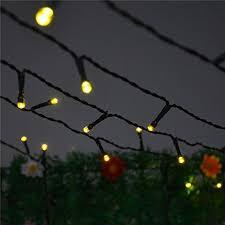 solar power led lights 100 bulb string inst solar powered led string light ambiance lighting 55ft 17m 100