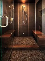 44 best pebble floors images on bathroom ideas master