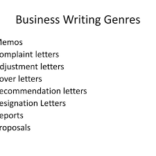 Different Types Of Business Letter With Example by Two Types Of Business Letters Images Examples Writing Letter